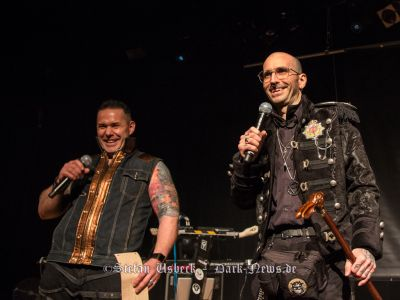 DJ E.L.V.I.S. and Dr. Mark Benecke @ Dark Storm Festival 2016