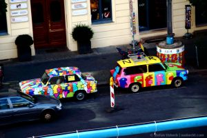Berlin, Checkpoint Charlie - von oben