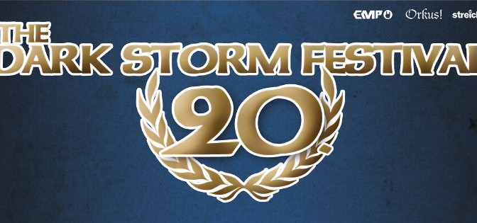 Preview: 20. Dark Storm Festival 2016 (Update: 06.11.2016)
