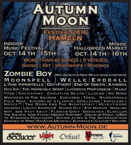 Flyer Autumn Moon Festival 2016