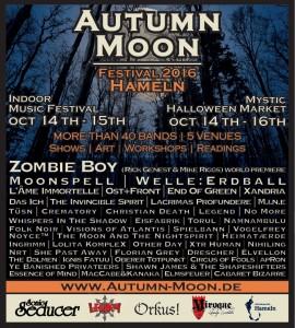 Flyer Autumn Moon Festival 2016