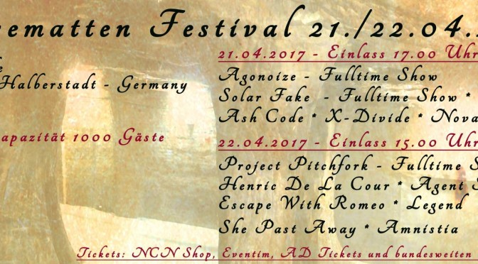 Preview: Kasemattenfestival 2017 (Update 10.04.2017)