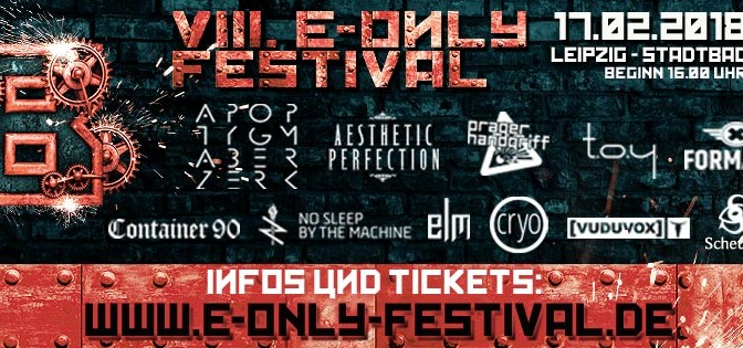 Preview: VIII. E-Only Festival 2018