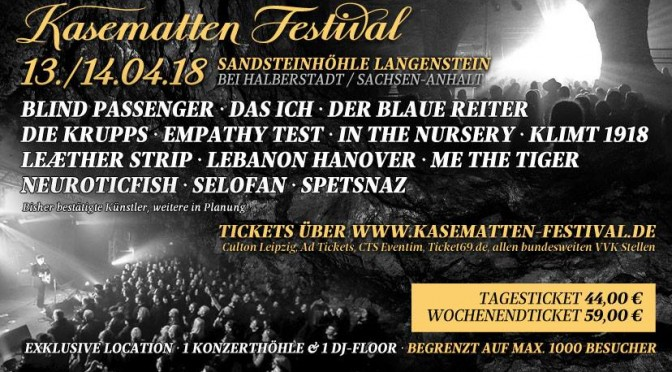 Preview: IV. Kasematten Festival 2018