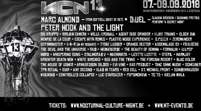 NCN13 - Nocturnal Culture Night 2018
